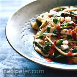 Korean Take-Out Rice Noodles (Vegan)