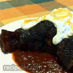 Lamb Shanks with Ancho Chile Honey Glaze