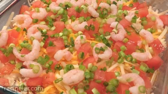 Layered Seafood Dip