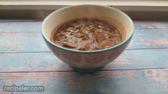 Leftover Roast Brunswick Stew