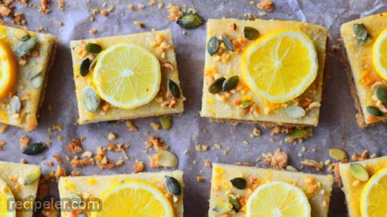 Lemon and Almond Slices