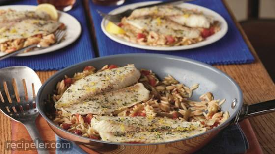 Lemon & Herb Fish Skillet