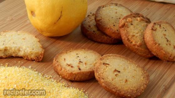 Lemon Polenta Biscuits