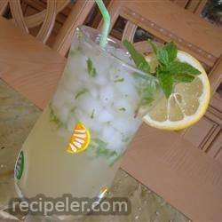 lemonade-mint ced tea