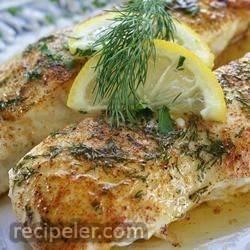 lemony steamed fish