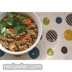 Lentil and Buckwheat Salad