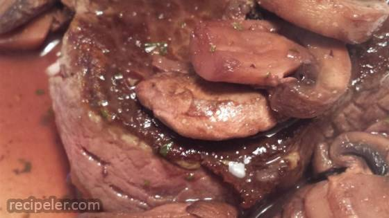 Less-Butter Steak Diane
