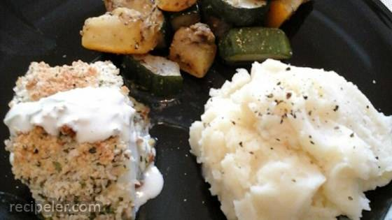 Light and Cheesy Panko Crusted Cod