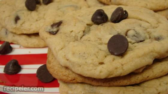 Light Chocolate Chip Cookies