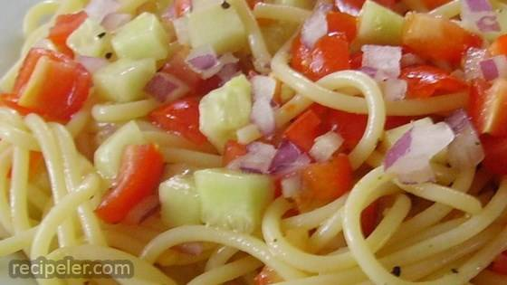 Light Spaghetti Salad