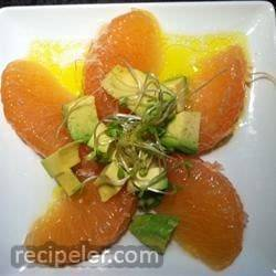 Lisa's Grapefruit and Avocado Salad