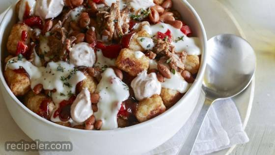 Loaded Pulled Pork Totchos