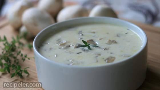 Low-Carb Cream of Mushroom Soup
