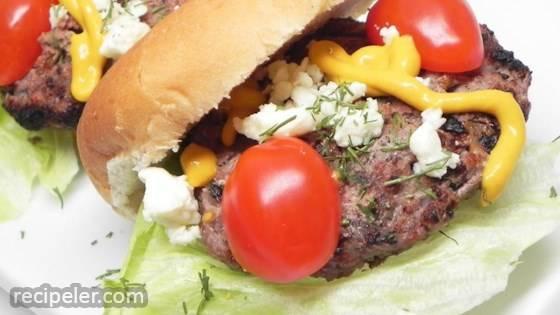 Low Carb Lamb Burgers