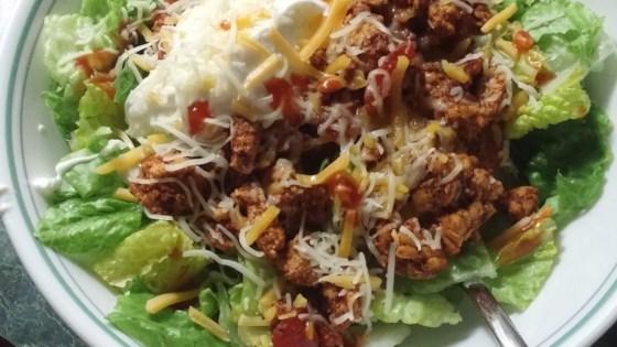 low-fat taco salad