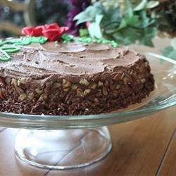 low sugar mocha nut cake
