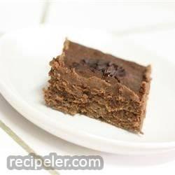 lower fat fudge brownies