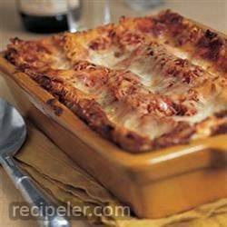 Luma's Beef And Veg Lasagna With Eggplant Sauce