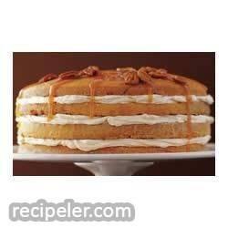 Luscious Four-layer Phlly Pumpkin Cake