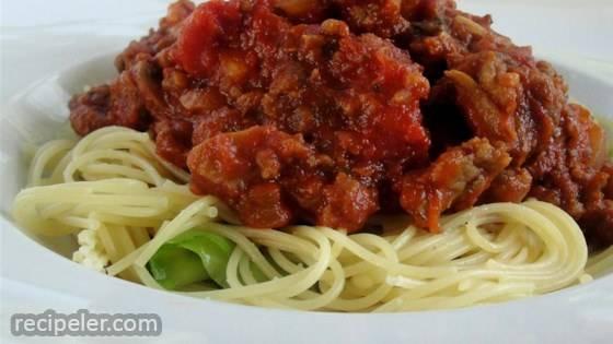 Ma Hunsicker's Spaghetti Sauce