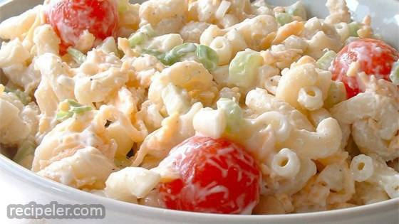 Macaroni And Cheese Salad