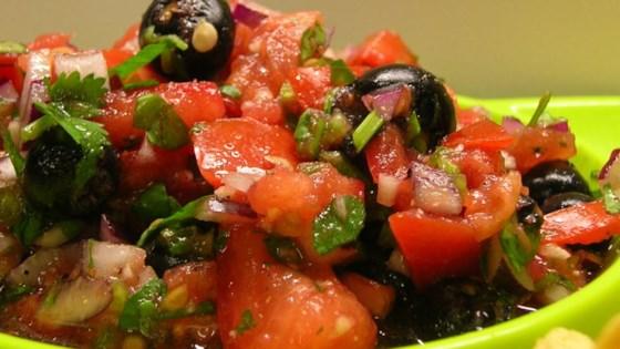 maine wild blueberry salsa