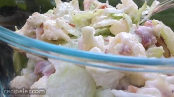 Make Ahead Cauliflower Salad
