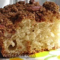 Make-Ahead Sour Cream Coffee Cake