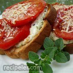 mama's best broiled tomato sandwich