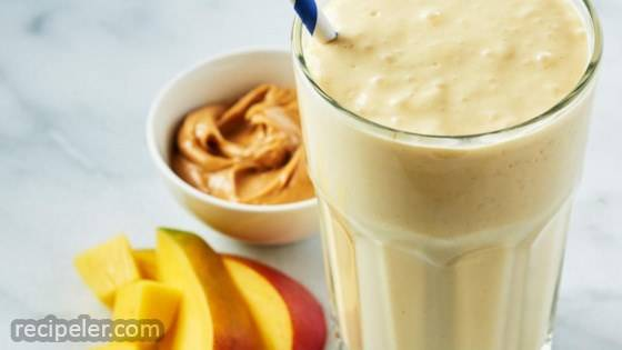 Mango Mayhem Peanut Butter Smoothie
