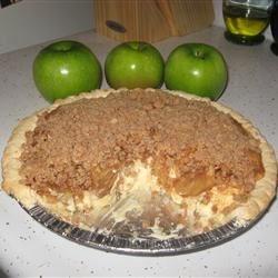 maple crunch cream pie