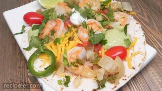 Margarita Shrimp Fajitas