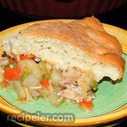 Marie-Eve's Turkey Pot Pie