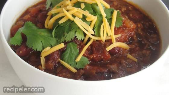 Mark's Firehouse Chili