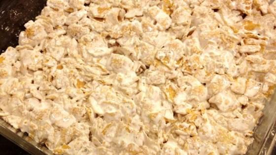 marshmallow corn chip treats