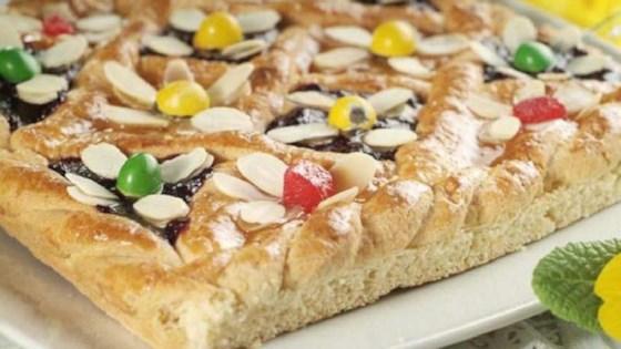 mazurek (polish easter cake)