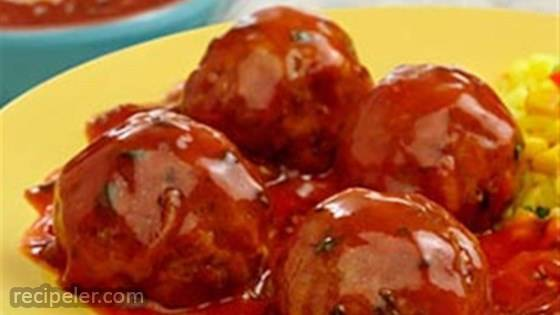 Meatballs in Chipotle Sauce
