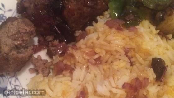 Meatballs with Raisins and Honey