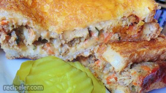 Meatloaf Grilled Cheese Sandwich