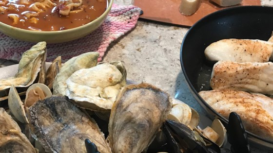 Mediterranean Seafood Medley