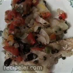 Mediterranean Style Trout