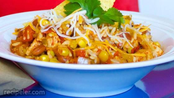 Mexican Chicken Chili and Rice