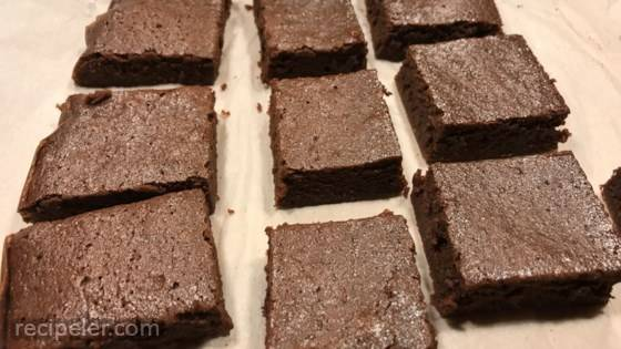 Mexican Hot Chocolate Brownies