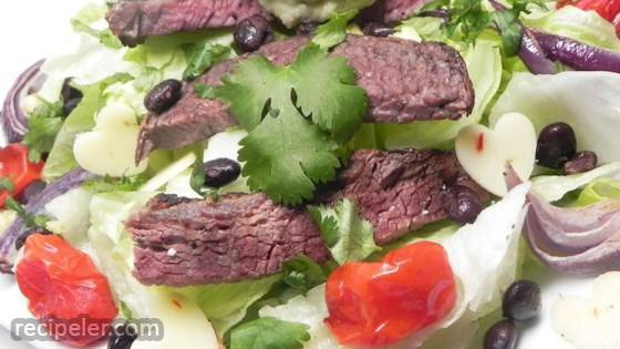 Mexican Steak and Veggie Salad
