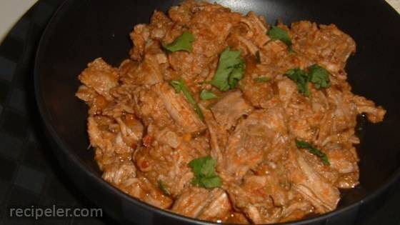 mexican style shredded pork