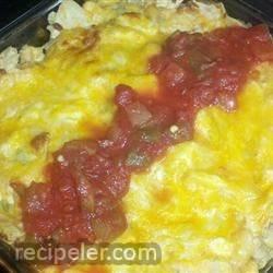 Mexican Tortilla Chicken Casserole