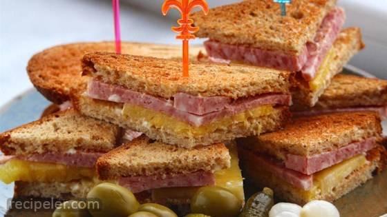 Mini Spam Sandwiches