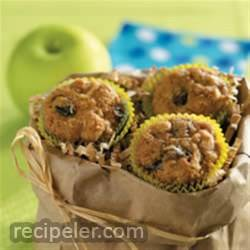 Miniature Apple Muffins