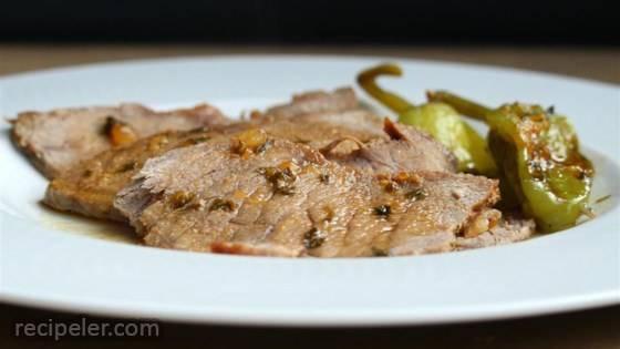 Mississippi Roast - Slow Cooker Pepperoncini Pot Roast