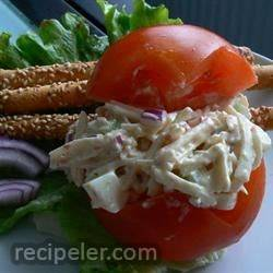 mitation Crab Salad